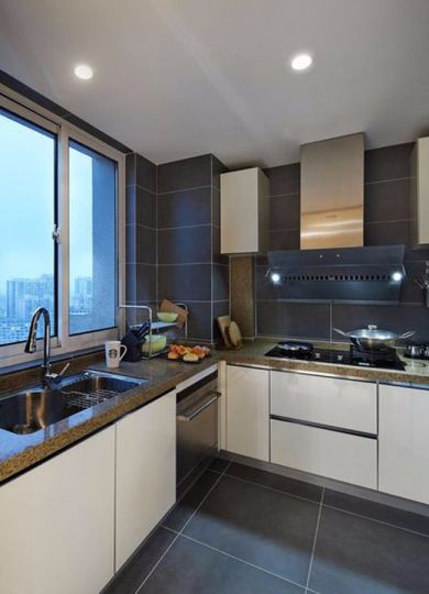 厨房橱柜简约风格装潢效果图