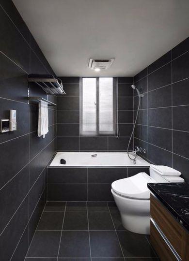 卫生间地砖简约风格装修图片
