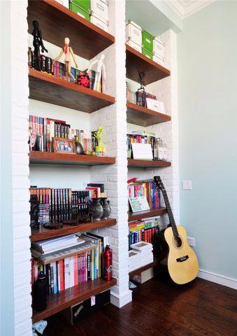 书房地板砖地中海风格装饰效果图