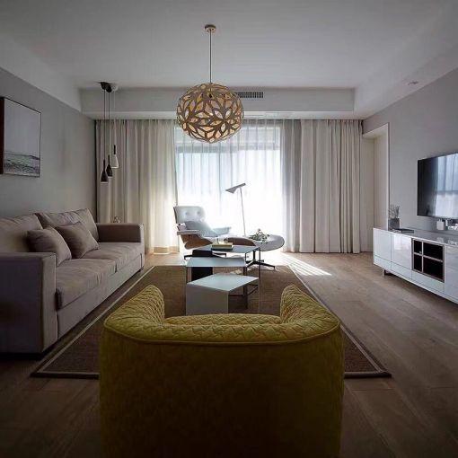 纯净客厅北欧设计图欣赏