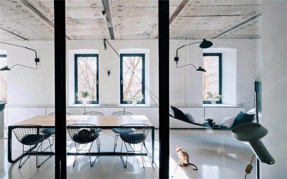 地中海风格140平米两室两厅新房装修效果图