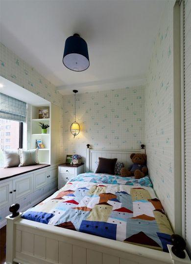 儿童房飘窗现代简约风格装修设计图片