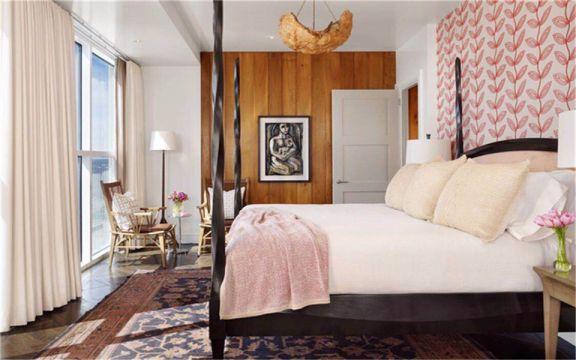 新古典风格119平米两室两厅新房装修效果图