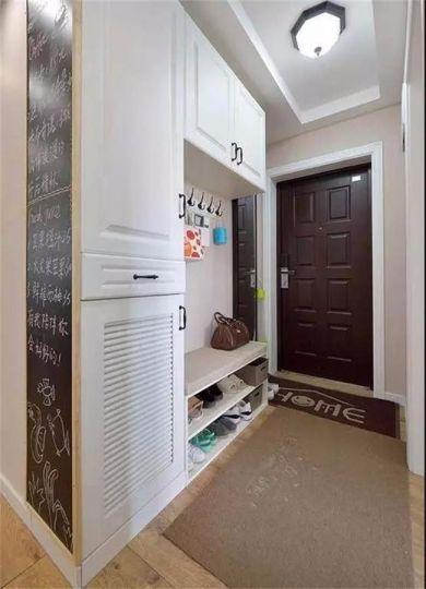 玄关鞋柜美式风格装修设计图片