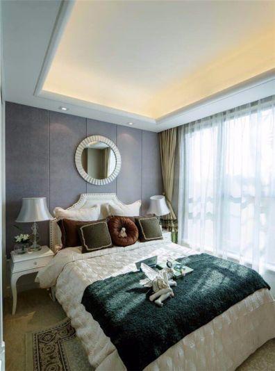 卧室床法式风格装潢图片