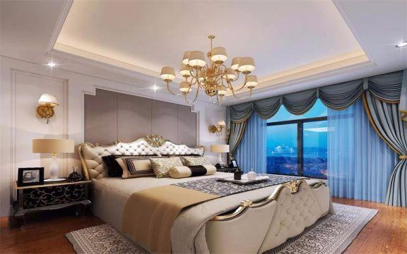 卧室沙发简欧风格效果图