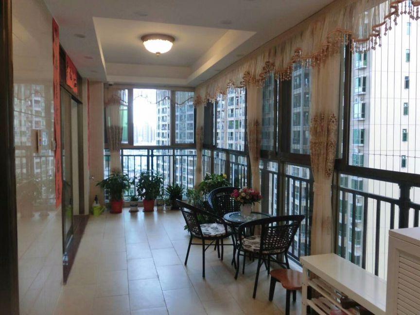 阳台地砖美式风格装潢设计图片