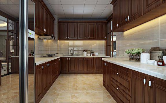 厨房橱柜欧式风格装潢效果图