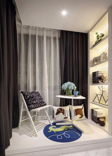 阳台窗帘简约风格装修效果图