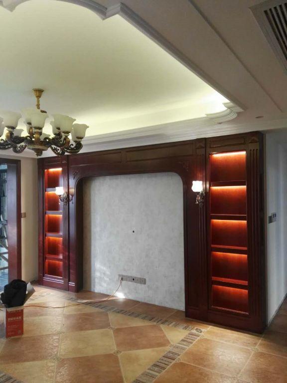 塞纳丽城92平米简约风三居室装修效果图