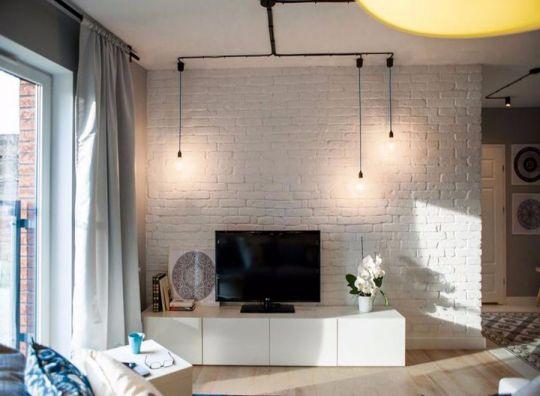 现代风格35平米一居室新房装修效果图
