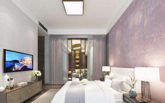 卧室电视柜新中式风格装修设计图片
