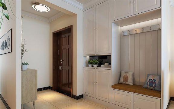 金汇瀚玉城142平三室两厅现代简约装修效果图