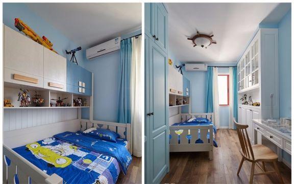 儿童房床北欧风格装饰设计图片