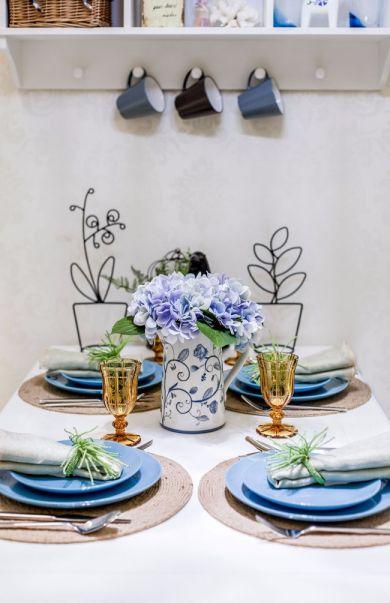 餐厅餐桌地中海风格装修图片