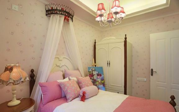 儿童房衣柜地中海风格装潢图片