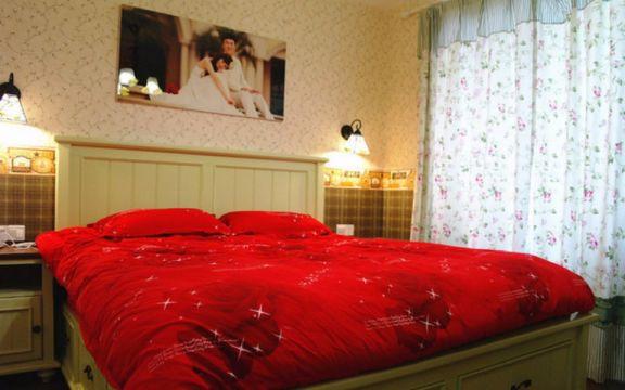 卧室床地中海风格装饰设计图片