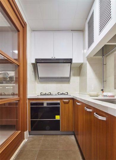 厨房橱柜美式风格装饰效果图