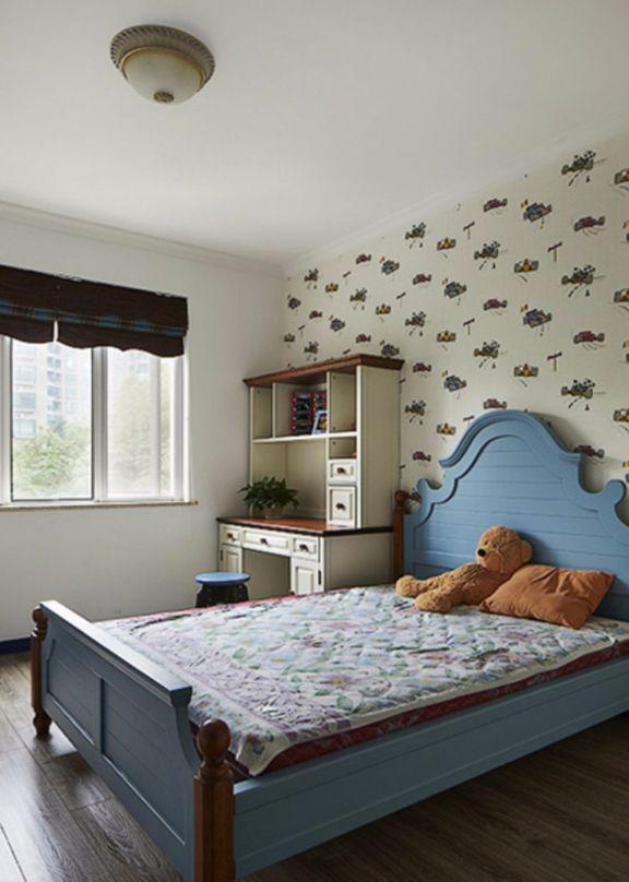 卧室床地中海风格装修图片
