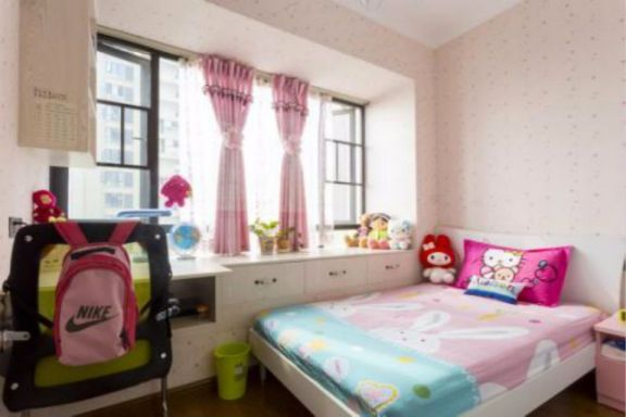 儿童房床地中海风格装潢设计图片