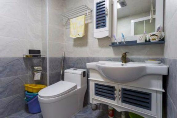卫生间洗漱台地中海风格装饰效果图