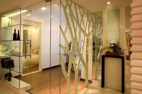 餐厅走廊现代简约风格装修图片