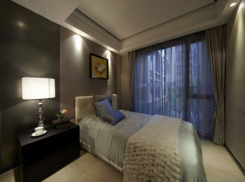 卧室床头柜后现代风格装饰效果图