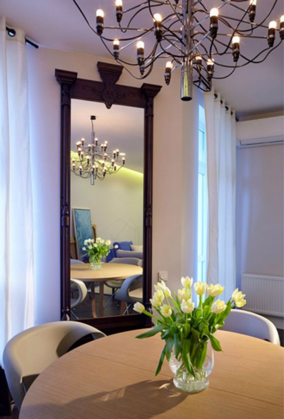 餐厅灯具现代简约风格装修效果图