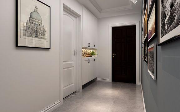 合肥华邦繁华里110平米三室两厅北欧风装修效果图