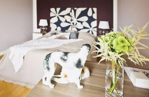 卧室床现代风格装修效果图