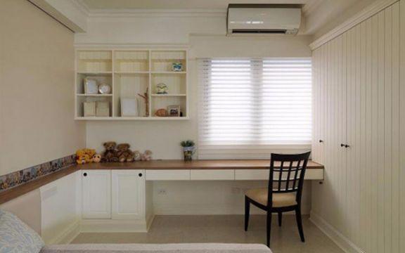 田园风格90平米两室两厅新房装修效果图