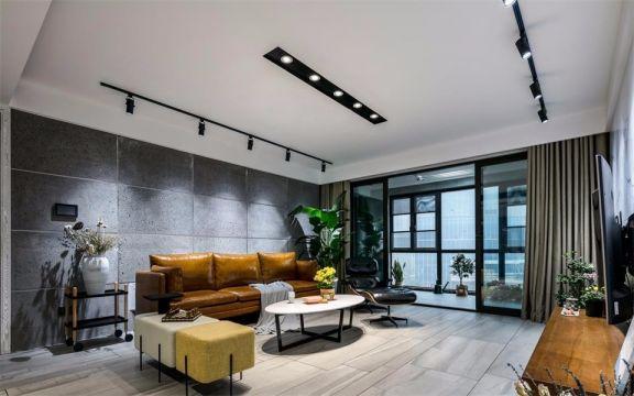 165平米三室两厅北欧风格装修效果图
