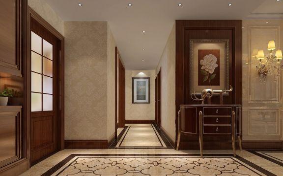 创意白色玄关装修设计图片