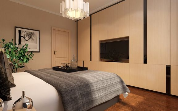 起居室细节现代简约风格装修效果图