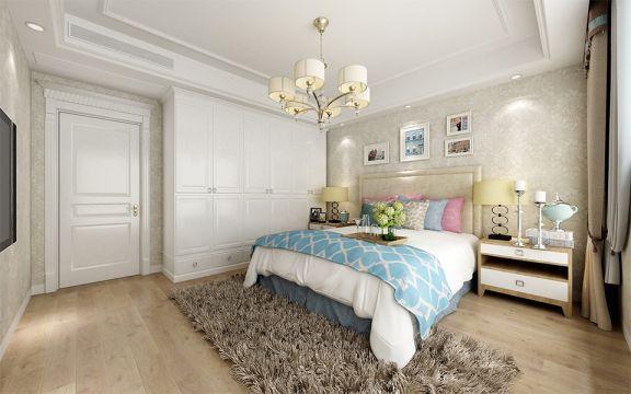 卧室照片墙欧式风格装饰效果图
