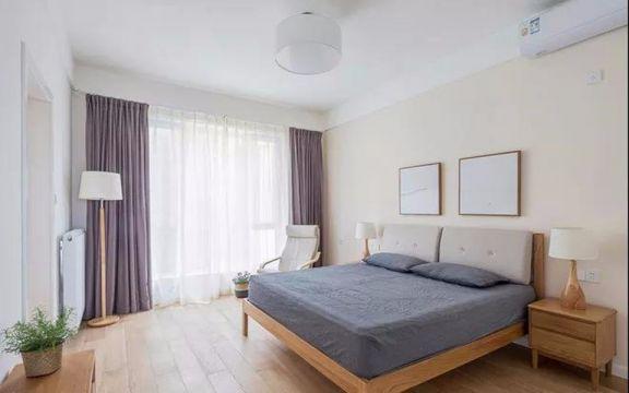 卧室床头柜现代简约风格装饰设计图片