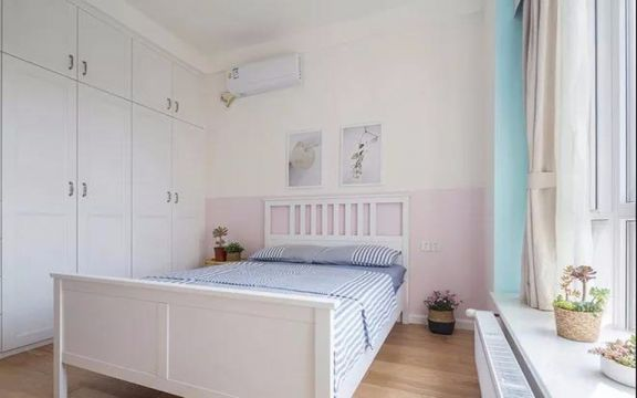儿童房衣柜现代简约风格装潢设计图片