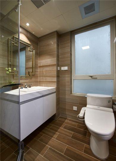 卫生间地板砖新古典风格装饰效果图