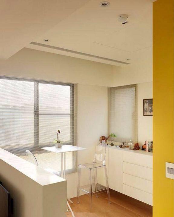 厨房餐桌现代简约风格装饰设计图片