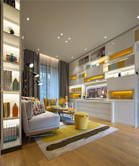 客厅细节现代简约风格装饰效果图