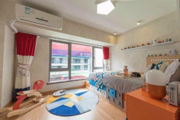 龙洲公寓65平两室两厅现代简约装修效果图