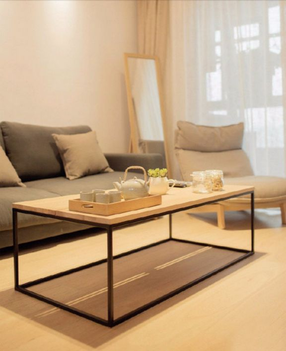 客厅茶几日式风格装潢效果图