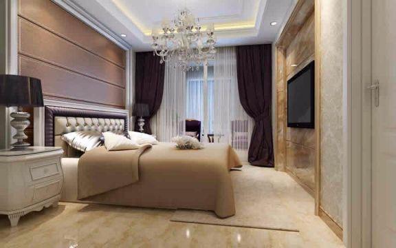 卧室床头柜简欧风格装饰效果图