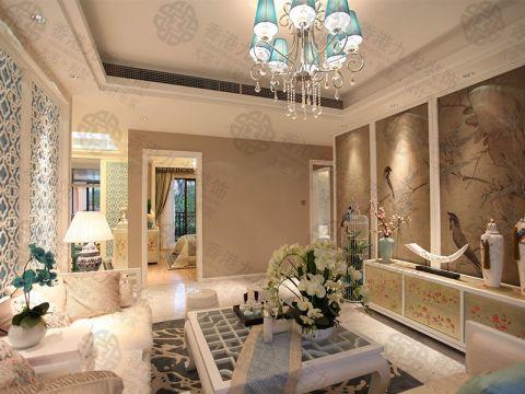 150平新古典风格四居室装修效果图