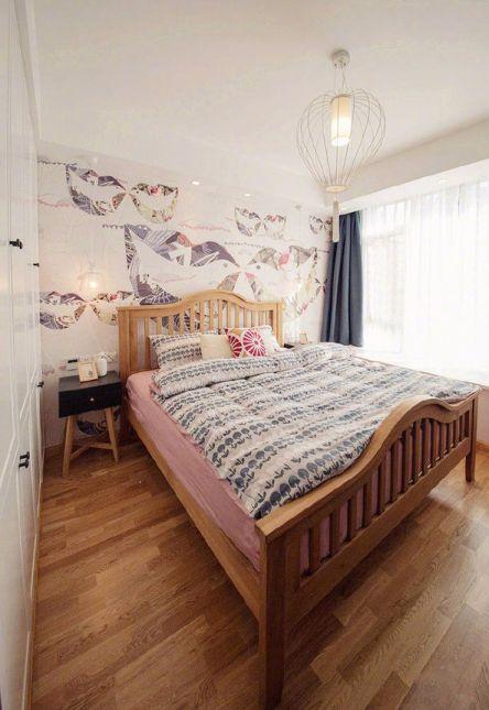 卧室地板砖现代简约风格装修效果图