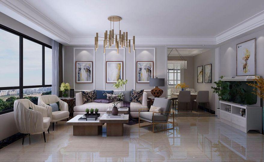 高贵风雅客厅室内装修设计