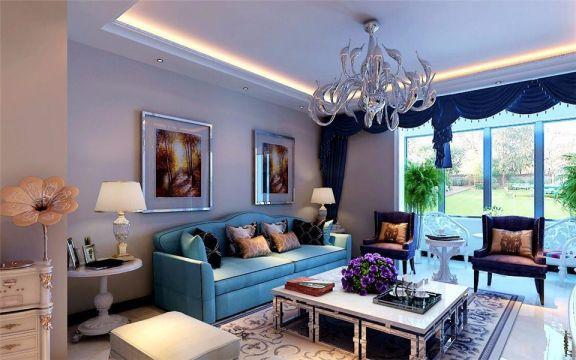 阳台沙发现代简约风格装饰设计图片