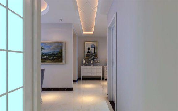 卫生间走廊现代简约风格效果图