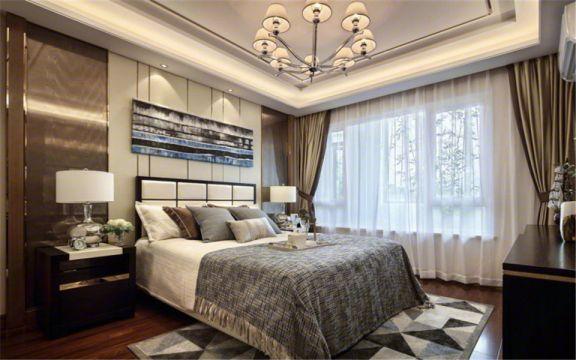卧室床头柜现代简约风格效果图