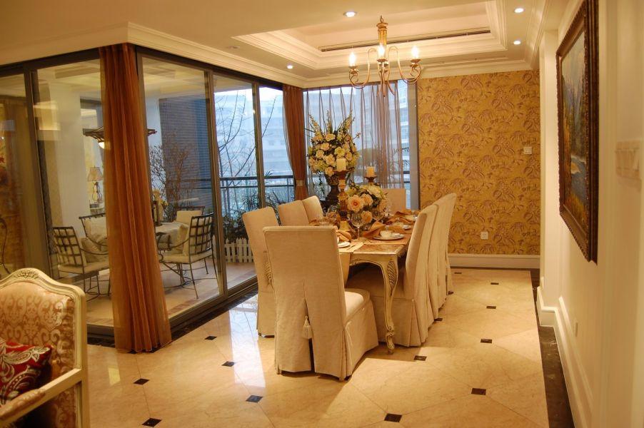 阳台细节欧式风格装潢设计图片